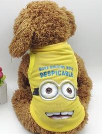 Honden Shirt Cartoon LARGE - LAATSTE