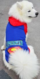 Hondentrui  Superman voor de grote hond  5XL - Ruglengte 55 cm  - In Voorraad