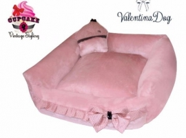 Hondenmand Roze Sweet Dreams Bed Medium / opvoorraad