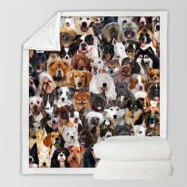 Hondendeken diverse rassen AANBIEDING T/M 27 NOV 2020 - GRATIS VERZENDING