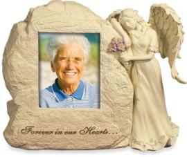 Engel Urn Rots met Engel Voor altijd in ons hart - Gratis Verzending