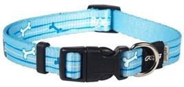 Hondenhalsband ROGZ FOR DOGS YOYO YIP HALSBAND BLUE - XS - Nekomvang 14-21 cm - IN VOORRAAD