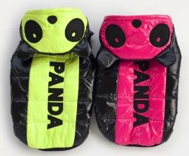 Hondenjas Panda Roze - Medium - Ruglengte 25 cm - In Voorraad