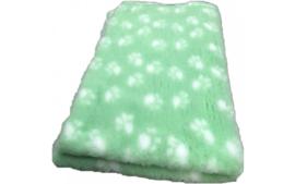 Vet bed Licht groen met witte voetprint