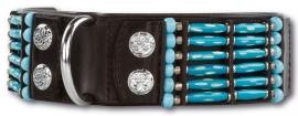 DOXTASY BLUE RIVER  HALSBAND 50 MM - Small - Nekomvang 45-52 cm - IN VOORRAAD- Gratis Verzending