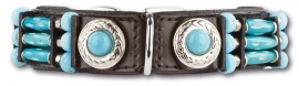 Doxtasy Halsband Blue River 25 mm