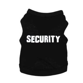 Hondenshirt Security - Small - Ruglengte 24 cm - In Voorraad