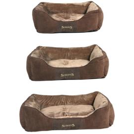 Scruffs Chester Box Bed Chocolade - Gratis Verzending