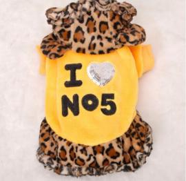 Hondenjas Leopard Geel M
