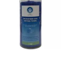 Tools 2 groom microvezel handdoek Blauw 90x55 cm