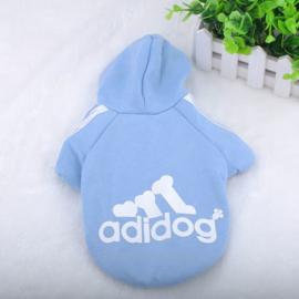 Adidog trui Licht blauw  - maat L