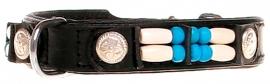 Halsband Black Moon 15mm (Doxtasy)/ Echt Leer