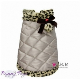 Pretty Pet Leopard Silver Coat  S