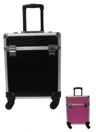 Trimkoffer Aluminium trolley-koffer large - Gratis Verzending