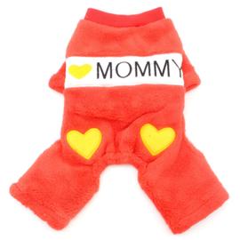 Hondenpakje I love Mommy Rood