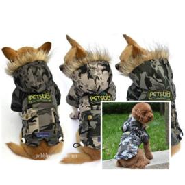 Hondenjas Camouflage XXL