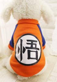 Hondentrui Cartoon Oranje -  Large - Ruglengte 35 cm - In Voorraad