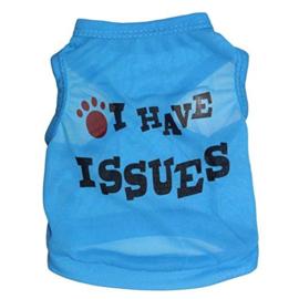 Hondenshirt Blauw - Maat XS - Ruglengte 19-20 cm - In Voorraad