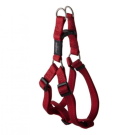 ROGZ FOR DOGS NITELIFE TUIG  STEP-IN ROOD    27-38 CM