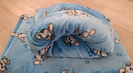 Hondenslaapzak Welness Little Mouse Blauw - 50x60 cm - IN VOORRAAD