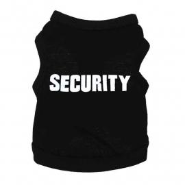 Honden Shirt Security   XS t/m XL