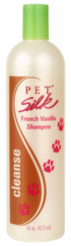 Pet Silk French Vanilla Shampoo 473ml / Geur shampoo / Hydraterend
