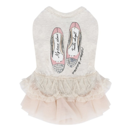 Puppy Angel Lovely Princess Dress Ivory