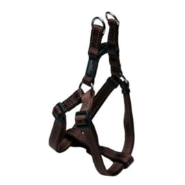 ROGZ FOR DOGS NITELIFE  STEP-IN TUIG BRUIN 27-38 CM