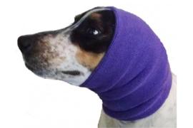 Oorbescherming  Hoodie PAARS SMALL & LARGE