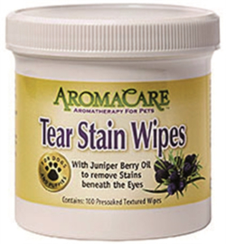 Aroma Care Tear Stain Wipes, oogdoekjes - 100 St