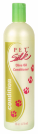 PET SILK OLIVE OIL CONDITIONER 473 ML