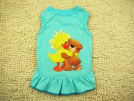 Honden jurk Teddy - Maat XS -  Ruglengte 23-25 cm - In Voorraad