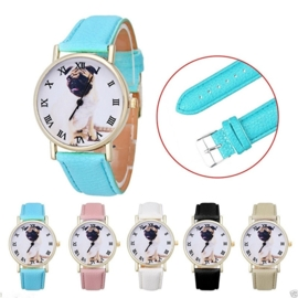 Horloge Pug