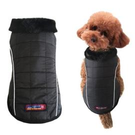 Hondenjas Zwart - Maat S - Borstomvang 34-36 cm - In Voorraad