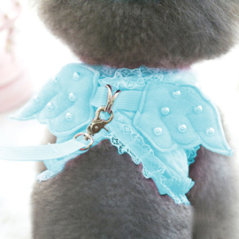 Hondentuig met vleugels en riem - Maat S- Borstomvang 36 cm