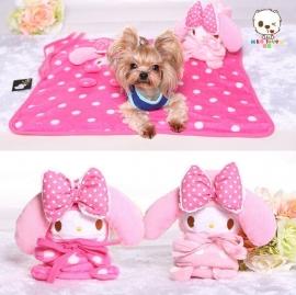 Honden Deken Lovely Pink