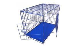 Hondenbench Donkerblauw