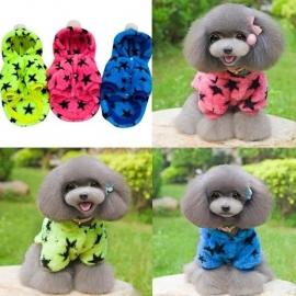Honden Fleece Jas Star
