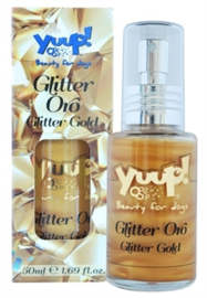YUUP! FASHION GLITTER GOLD HONDENPARFUM 50 ML