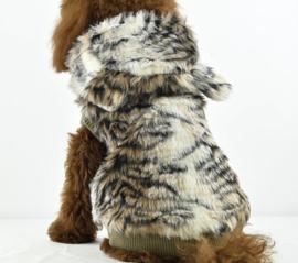 Hondenjas Tijger Look - Large - Ruglengte 32-33 cm - In Voorraad