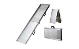 Loopplank DeLuxe Aluminium 122x36cm tot 90 kg