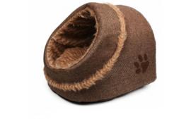 Hondenmand Minou Iglo Bruin 31x30x23cm