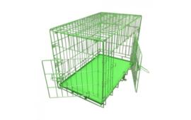 Hondenbench Groen