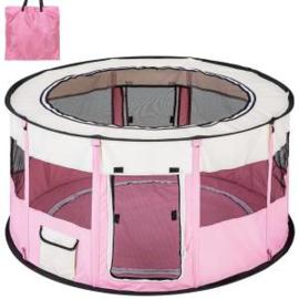 Puppy Ren Roze Opvouwbaar Inclusief Tas. 120 x 60 cm hoog