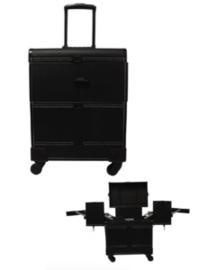 Trimkoffer Aluminium trolley-koffer large luxe - Gratis Verzending