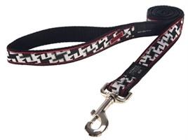 ROGZ FOR DOGS JELLYBEAN LIJN HOUND DOG BLACK 11 MMX1,6 MTR