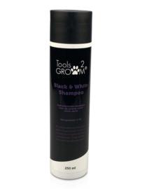 Tools-2-Groom luxe black & white shampoo - Zwart of Witte Vachten