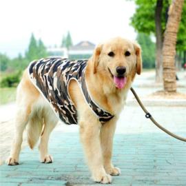 Hondenshirt Camouflage