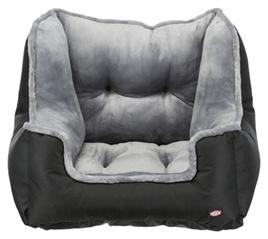 Trixie Autostoel Zwart -Grijs 50 x 50 x 40 cm/ UITVERKOCHT/ VERWACHT 19 MAART