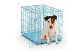 Hondenbench Blauw - Gratis Verzending